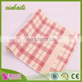 wholesale double gauze grid cloth stripe cotton hand towel