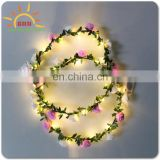 attractive shinny led flower crown Alibaba Chinese manufacturer