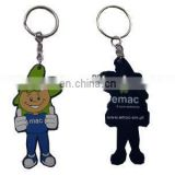 Soft Rubber PVC Customized Key Chain