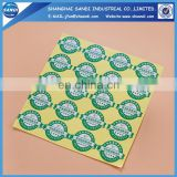 cheap adhesive paper sticker printing