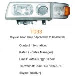 Toyota coaster 98 Crystal head lamp(T033)