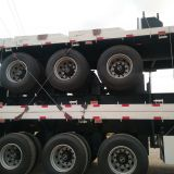 3 Axle 40FT 20FT Flatbed Cargo Container Semi Trailer