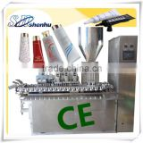 soft transparent silicone tube filling and sealing machine