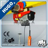 0.1T to 1 T Mini electric hoist,mini electric chain hoist with trolley,hoist lift, small elelctric winch