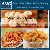 Corn snacks cheese ball making machine