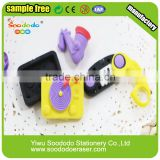 Collectible Musical Instruments Shaped Erasers                                                                         Quality Choice