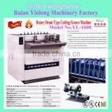 Rotary Drum Type Cutting Groove Machine YL-1000,paper board grooving machine box making machine ,wall groove cutting machine
