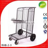 heavy duty baggage cart for airport