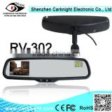 2014 the newest product 3.0 inch compass car rear view mirror best selling car accessories