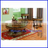 New Design Marble Top Wooden Dining Pool Table and Chair Hot 1297#