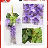 Large artificial westeria cheap wedding decorations silk flowers fresh cut