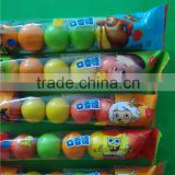 Mini Ball Shaped Bubble Gum Bulk Assorted Fruit Flavor Bubble Gum