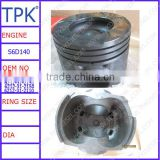 Komatsu WA500-1 engine parts, S6D140,S6D140-1 engine cast iron piston,6211-31-2111 6211-31-2110