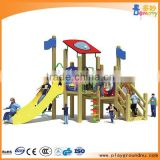 outdoor equipment use rubber flooring for exterior playground