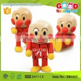 Kindergarten Small Cute Doll Wooden Funny Toys for Children                                                                         Quality Choice
