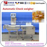 automatic Measuring Food weight selector machine, fruit package check weigher BY-XBC Made in CHINA