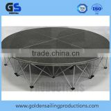 Outdoor event stage , round stage, portable stage supplier                                                                         Quality Choice