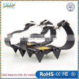 Portable 4 Teeth Mountaineering Easy Camping Climbing Ice Snow Crampons Rainy Day Non-slip Walking Shoe Boot