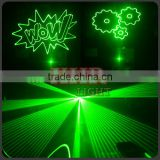Green Animation Laser Light 3w 3000MW Green Discoteca Luces DJ Lighting Logo Projector