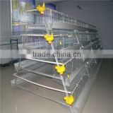 Poultry farming equipment for battery cage laying hens/galvanized steel made chicken cage