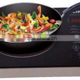 CB,CE,EMC,ROHS,GS,ETL stainless steel body schott ceran ceramic hob handle electric infrared cooker price