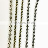 Various styles of bead chain,most popular chain brass ball chain.                                                                         Quality Choice