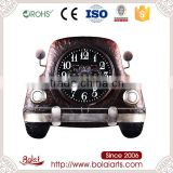 Best quality mini brown car shaped long life time decorative wall clock