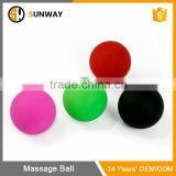 Custom Size And Color Double Silicone Lacrosse Ball Body Massage