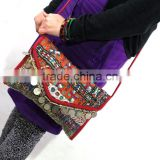 Girl's Banjara Cross Body Envelope Bag Vintage Shoulder Envelope Bag Gypsy Banjara Bag