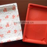 Disposable Korea customized PS plastic take away sushi box