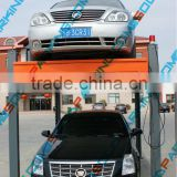 Four Post Hydraulic Cylinder Protection Automated Locking Detection Hydraulic Car Parking Lift