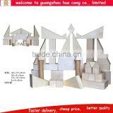 Wooden building stock for preschool kids toy Wooden stock creative toys for kids