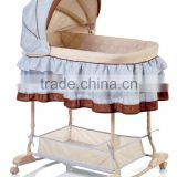 Baby Bassinet folded,Foldable baby swing bassinet