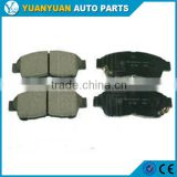 toyota carina parts 04465-22300 front brake pads for toyota camry toyota corolla 1991 - 2001