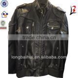 pakistan motocycle leather jacket for men