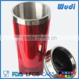 16 oz outer plastic inner stainless steel mug for car and travel CM336S                                                                         Quality Choice