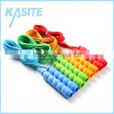 cotton speed jump rope with pp handle
