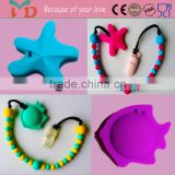 Loop Teether Mommy Customed Best Friend Gifts Funny Fashion Jewelry Making Raw Material