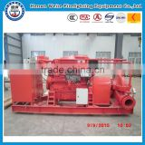 firefighting Single pump structure diesel engine driven fire fighting pumps made in weite