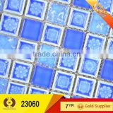 300x300mm bathroom floor tiles price tile crystal glass mosaic tile house plans (23060)