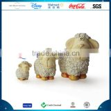 Polyresin Customized Sheep Figurine Statue Resin Easter Sheep Decoration