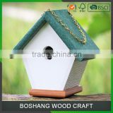 Customized Logo Bird House Craft Wood