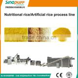 Single Screw Extruder Automatic Nutritional Rice Machinery/Industry Automatic Broken Rice Reused Machienry Plant