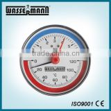 80mm Hot water boiler temperature gauge