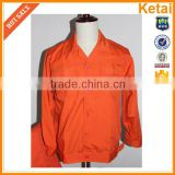 2013 fashion ladies outer safety jacket with reflective tapes