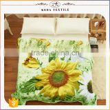 2016 Alibaba trade assurance China products home bedding textile twill fabric reactive 3d cotton quilt