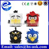 bicycle taillights warning silicone bicycle laser light colorful cartoon bird bike light for mountain