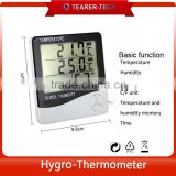 Top China Supplier Thermo Tech Digital Thermometer Wall clock Digital Thermo Hygrometer TL-504