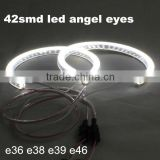 led angel eyes for bmw e46 accessories 42 smd led angel eyes rings for BMW E46 led smd angel eye rings