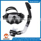 Silicone Scuba Diving Equipment Mask Snorkel Glasses Set With Anti Fog Goggles                                                                                         Most Popular